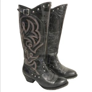 Ariat wanderlust tall cowgirl riding boot size 9